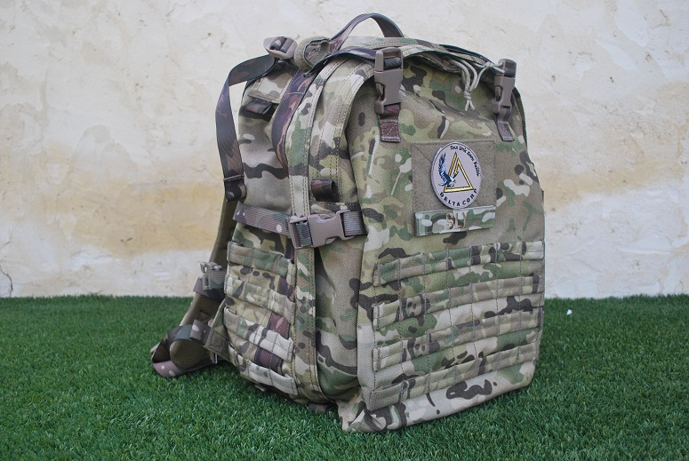 SAC A DOS BULLDOG TACTICAL GEAR MULTICAM