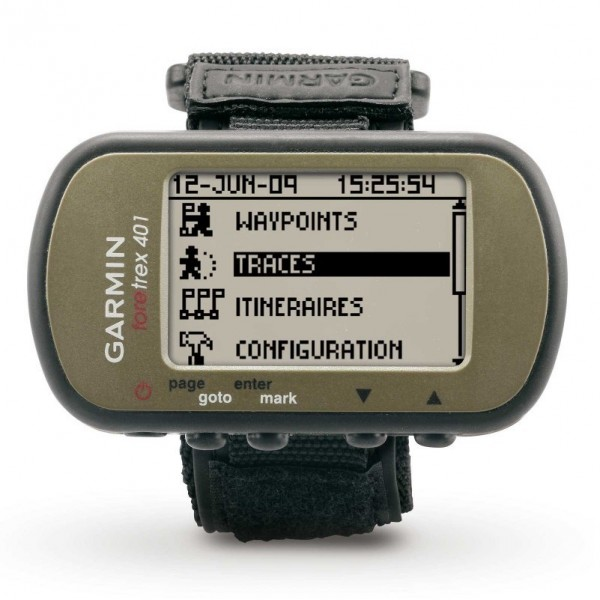 Review GPS Garmin Foretrex 401
